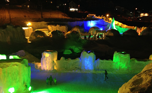 Winter Ice-Waterfall Festival